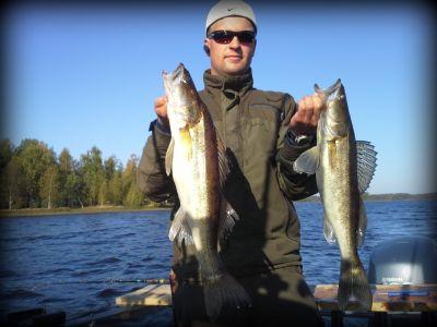 Syyskuhaa syyskuun 2013 puolivälin paikkeilla Kivijärvestä.